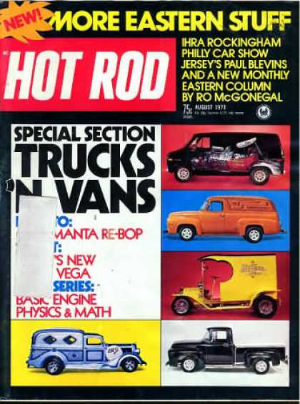 Hot Rod - August 1973