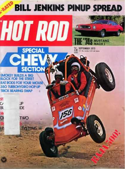 Hot Rod - September 1973