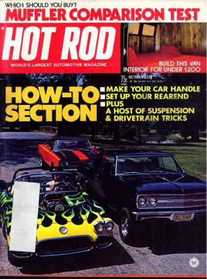 Hot Rod - October 1973