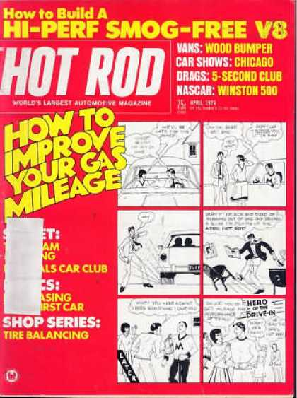 Hot Rod - April 1974