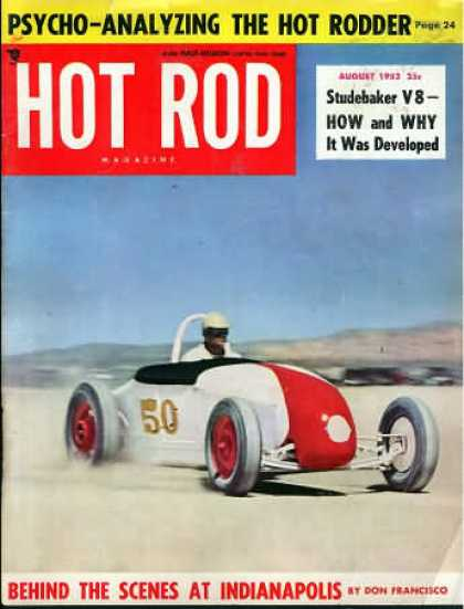 Hot Rod - August 1952