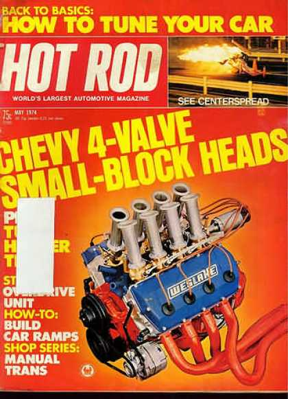 Hot Rod - May 1974