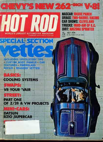 Hot Rod - July 1974