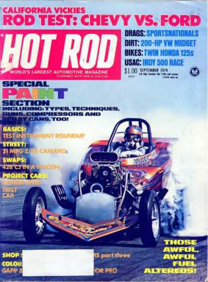 Hot Rod - September 1974