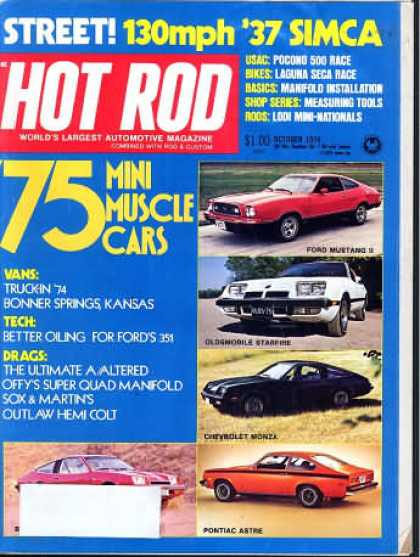Hot Rod - October 1974