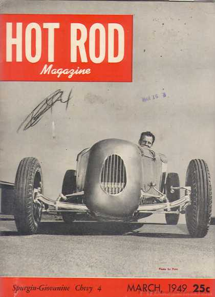 Hot Rod - March 1949