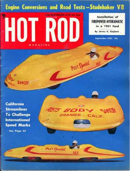 Hot Rod - September 1952