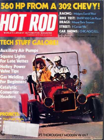 Hot Rod - March 1975