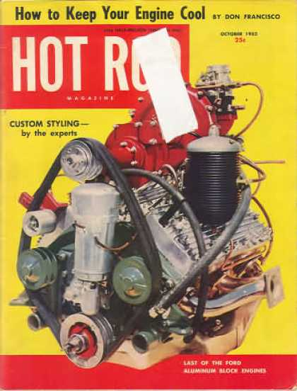 Hot Rod - October 1952