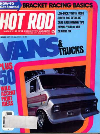 Hot Rod - March 1976