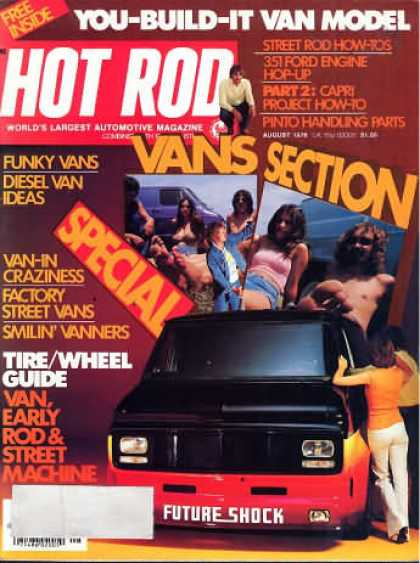 Hot Rod - August 1976