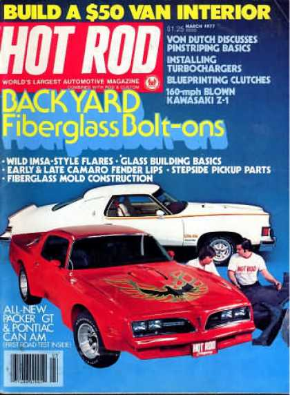Hot Rod - March 1977