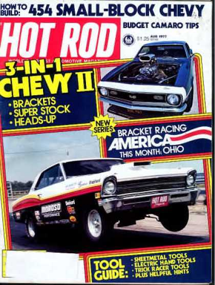 Hot Rod - August 1977