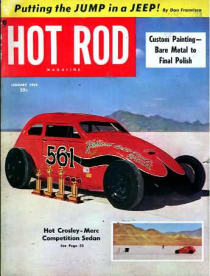 Hot Rod - January 1953