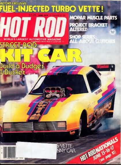 Hot Rod - June 1979