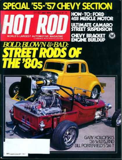 Hot Rod - July 1979