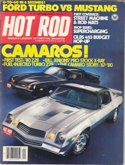 Hot Rod - September 1979