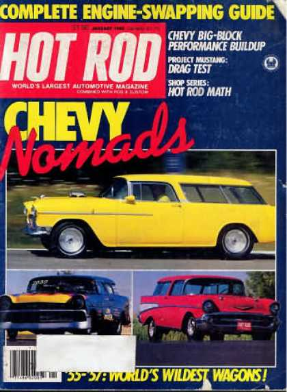 Hot Rod - January 1980