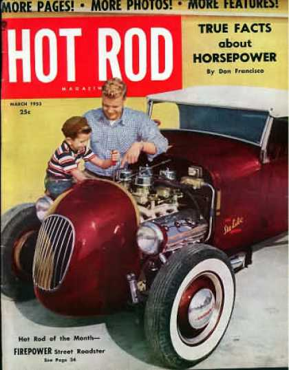 Hot Rod - March 1953