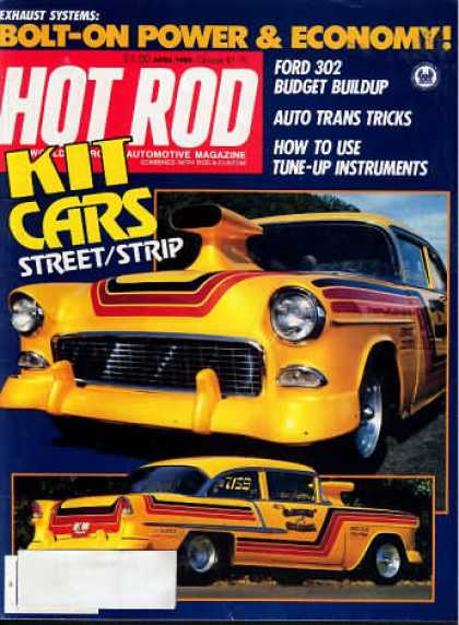 Hot Rod - April 1980