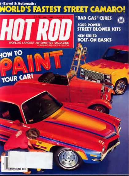 Hot Rod - July 1980