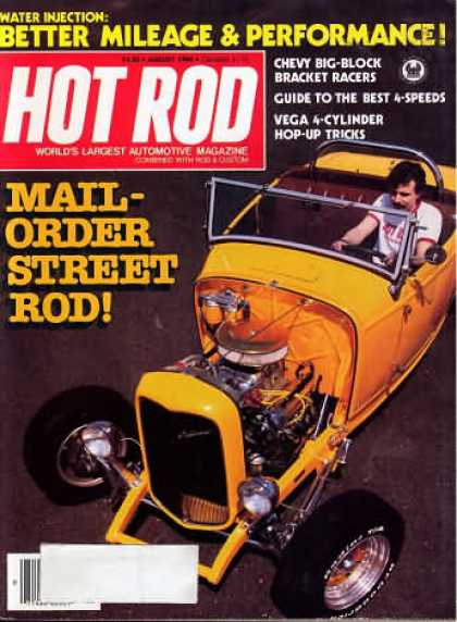 Hot Rod - August 1980