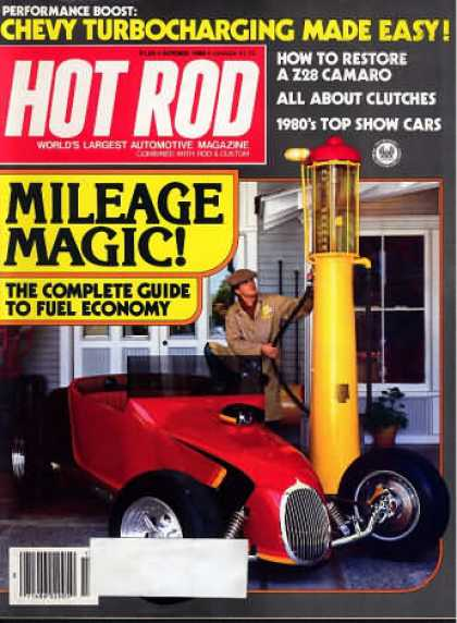 Hot Rod - October 1980