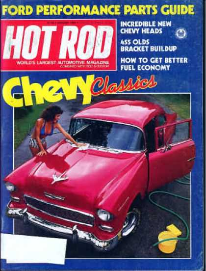 Hot Rod - January 1981