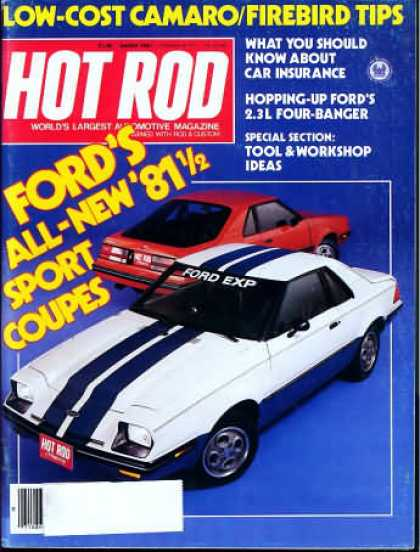 Hot Rod - March 1981