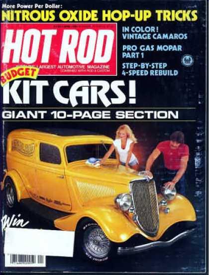 Hot Rod - April 1981