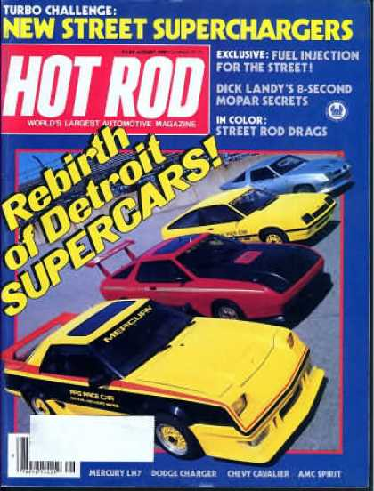 Hot Rod - August 1981