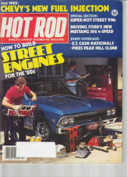 Hot Rod - October 1981