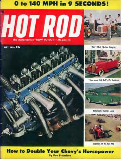 Hot Rod - May 1953