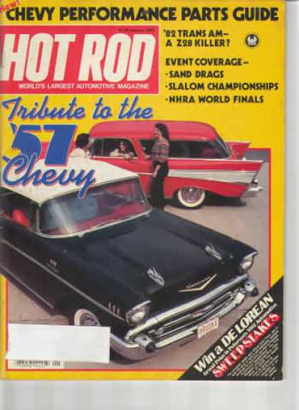 Hot Rod - January 1982