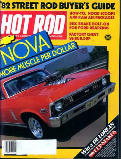 Hot Rod - March 1982