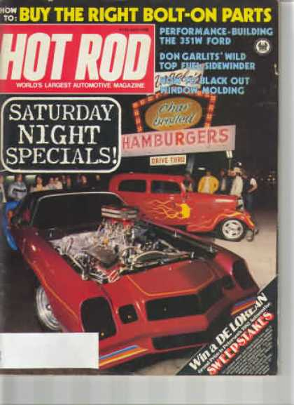 Hot Rod - April 1982