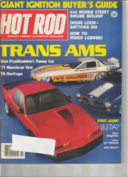 Hot Rod - May 1982