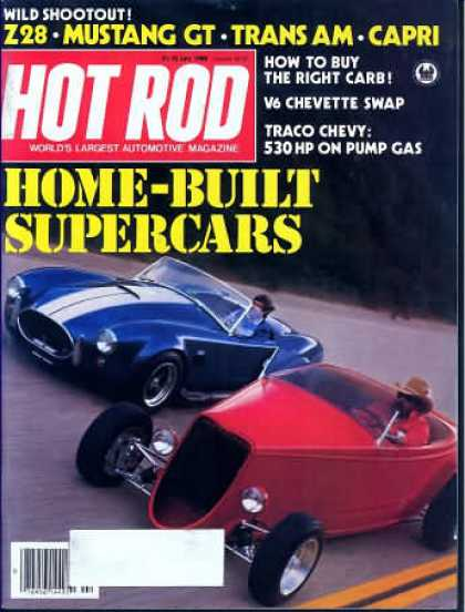 Hot Rod - July 1982