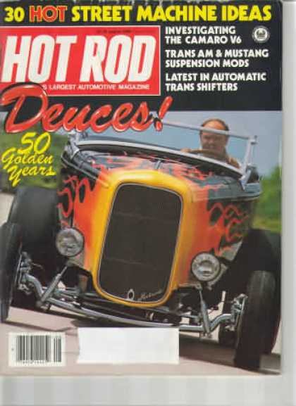 Hot Rod - August 1982