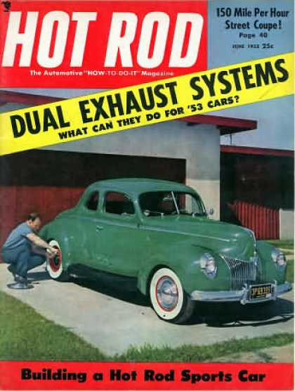 Hot Rod - June 1953