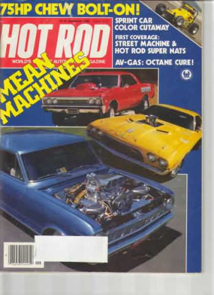 Hot Rod - September 1982