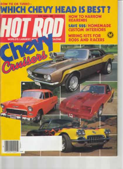 Hot Rod - January 1983