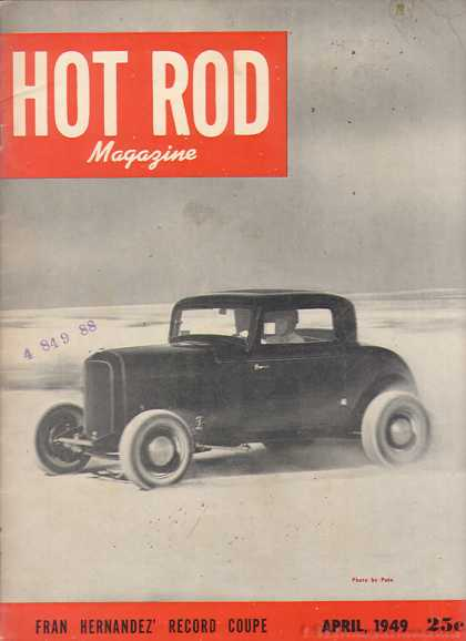 Hot Rod - April 1949