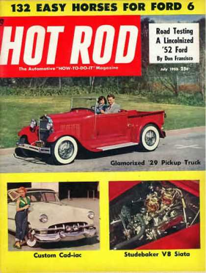 Hot Rod - July 1953