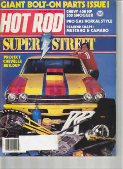 Hot Rod - July 1983