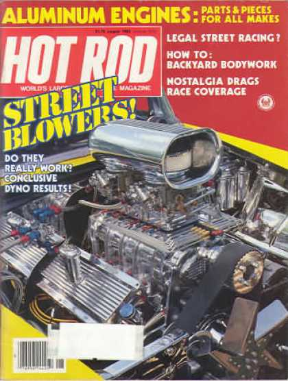 Hot Rod - August 1983