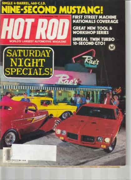 Hot Rod - September 1983