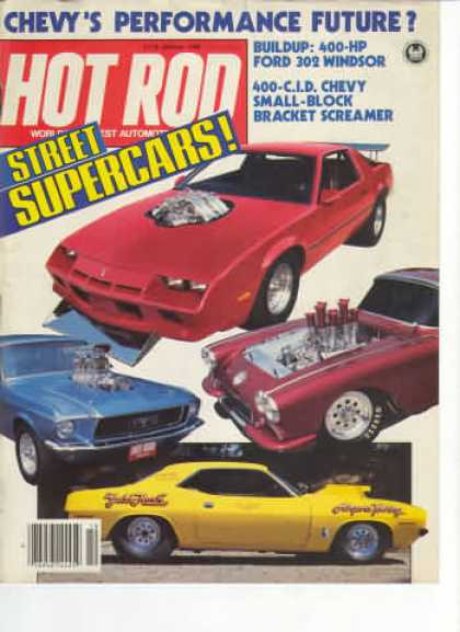 Hot Rod - October 1983