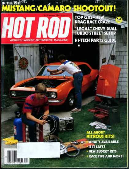 Hot Rod - January 1984