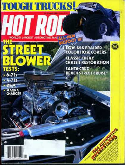 Hot Rod - April 1984